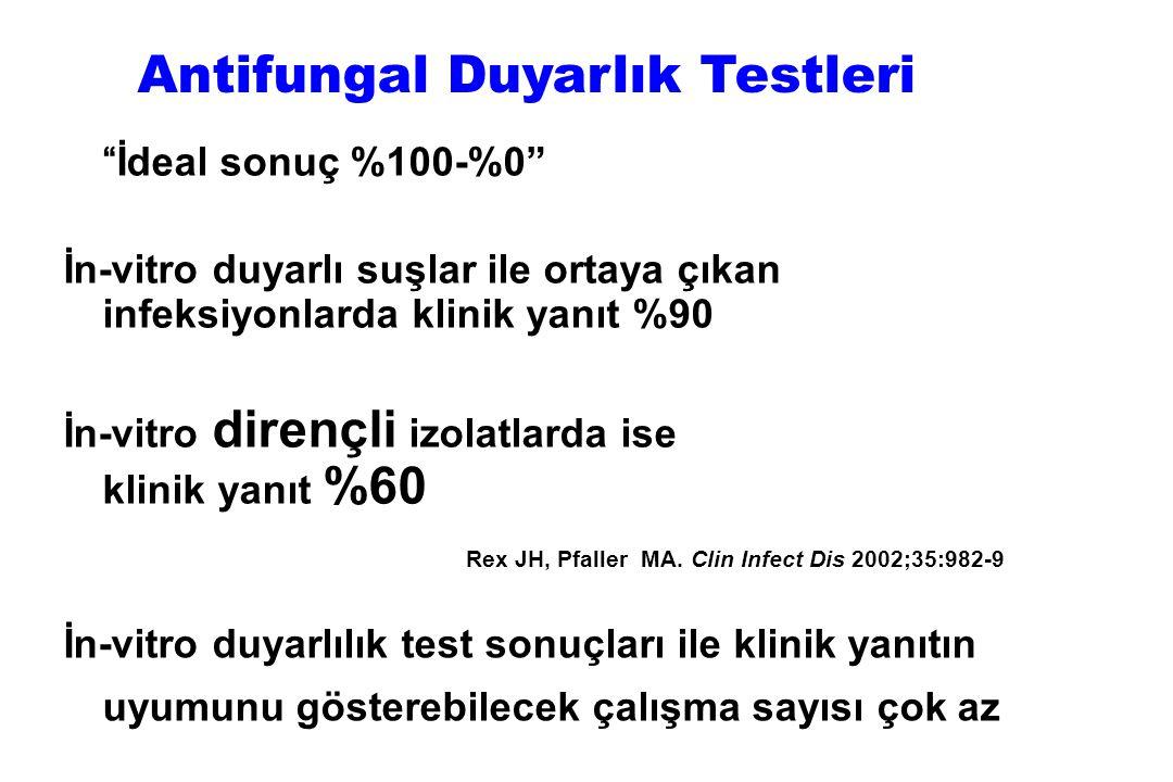 Antifungal Duyarlık Testleri
