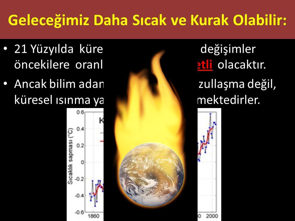 Geleceğimiz Daha Sıcak ve Kurak Olabilir: