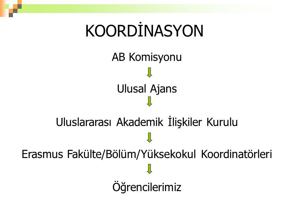 KOORDİNASYON AB Komisyonu Ulusal Ajans