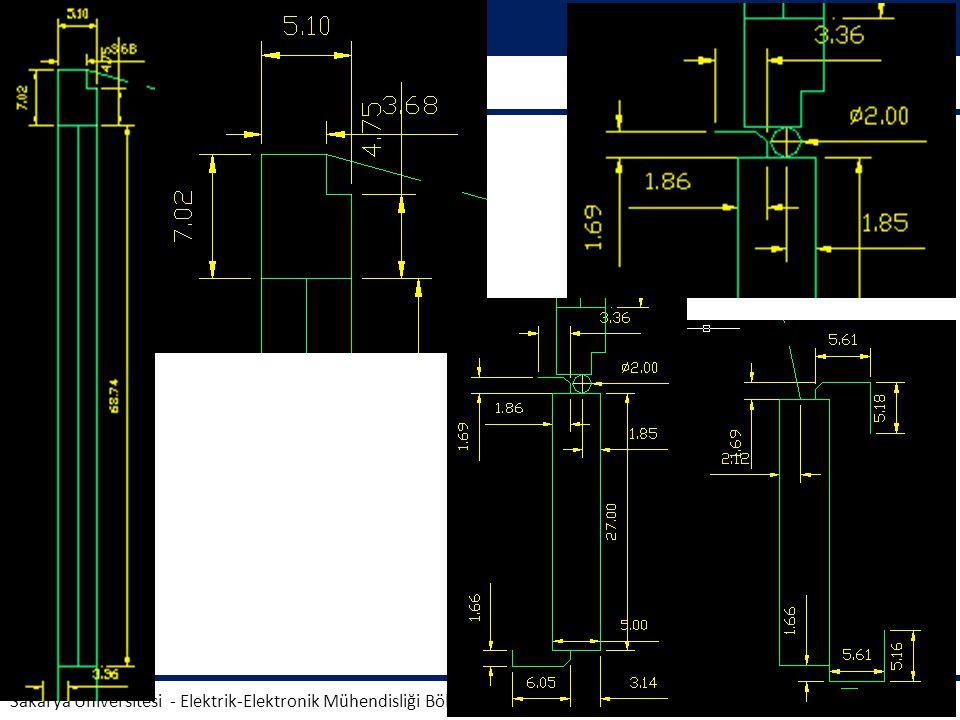 Teknik Resim AUTOCAD. Sakarya Üniversitesi - Elektrik-Elektronik Mühendisliği Bölümü.