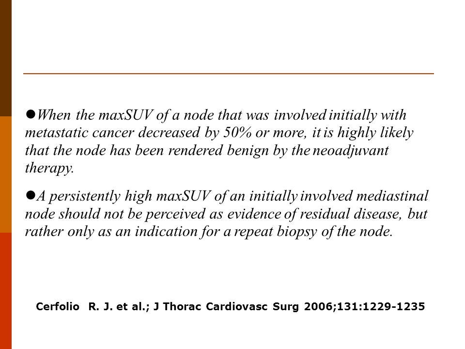 Cerfolio R. J. et al.; J Thorac Cardiovasc Surg 2006;131:1229-1235