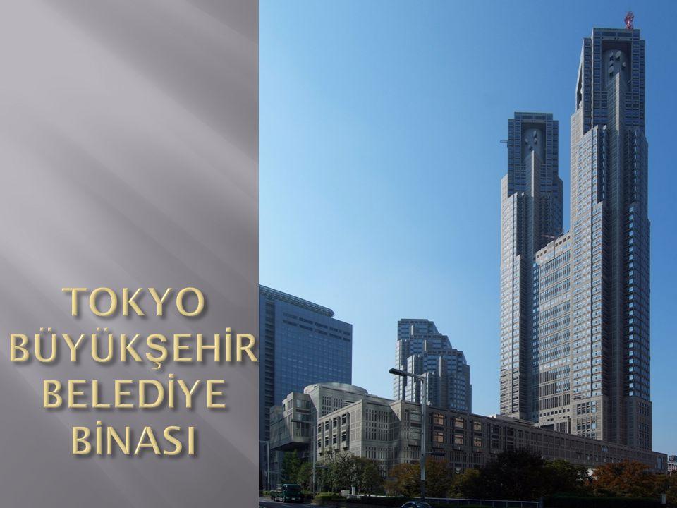 TOKYO BÜYÜKŞEHİR BELEDİYE BİNASI