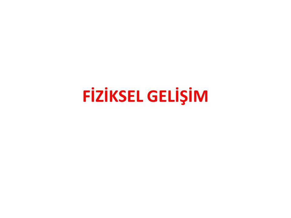 FİZİKSEL GELİŞİM