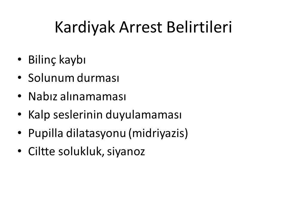 Kardiyak Arrest Belirtileri