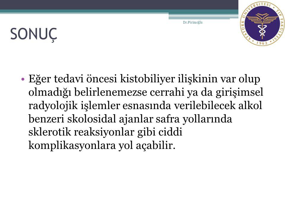SONUÇ Dr.Pirimoğlu.