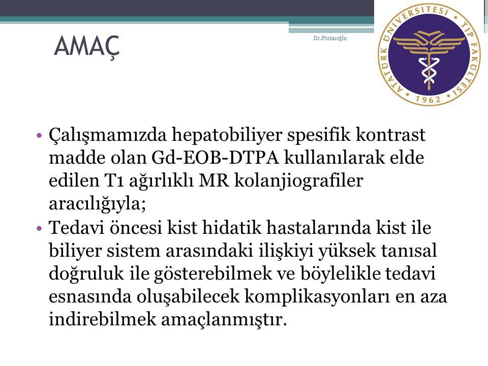 AMAÇ Dr.Pirimoğlu.