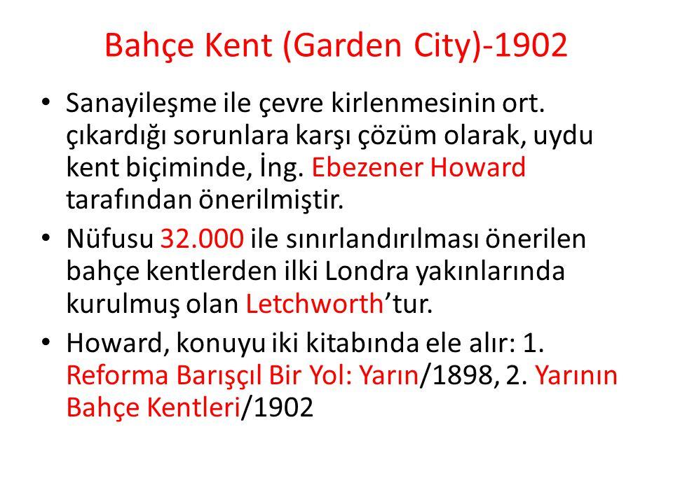 Bahçe Kent (Garden City)-1902