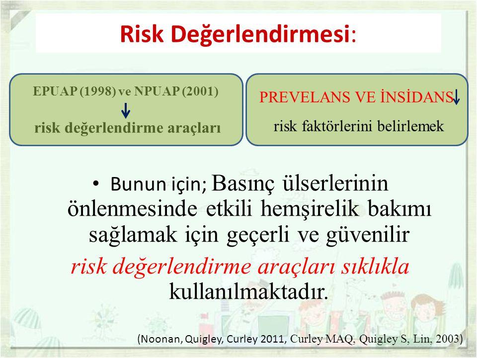 risk değerlendirme araçları
