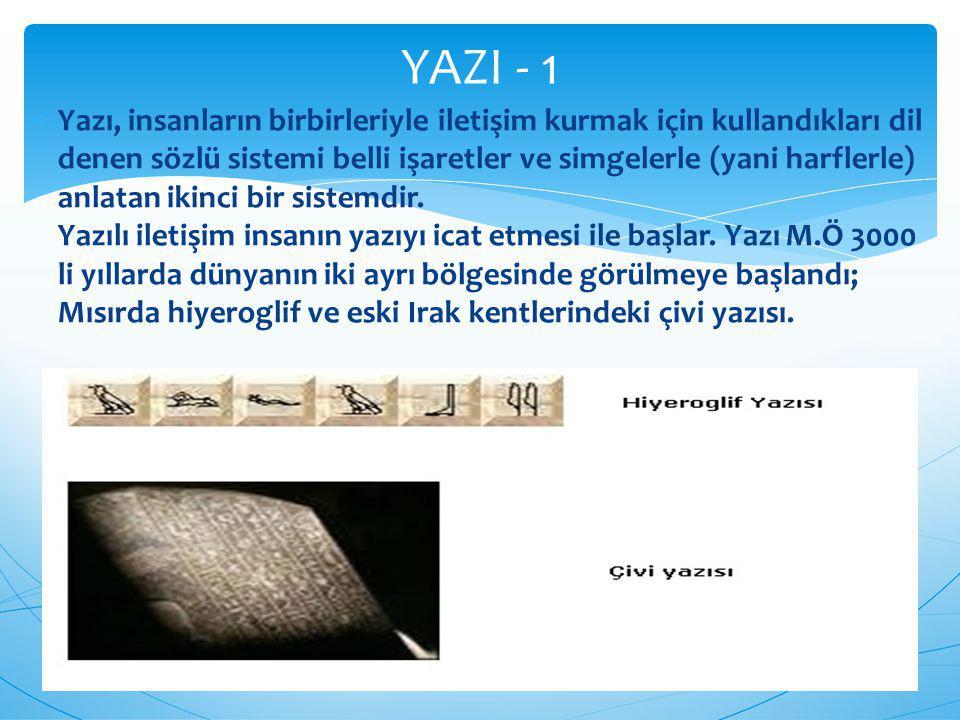 YAZI - 1