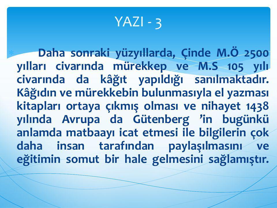 YAZI - 3
