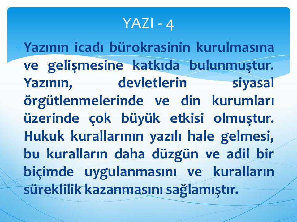 YAZI - 4