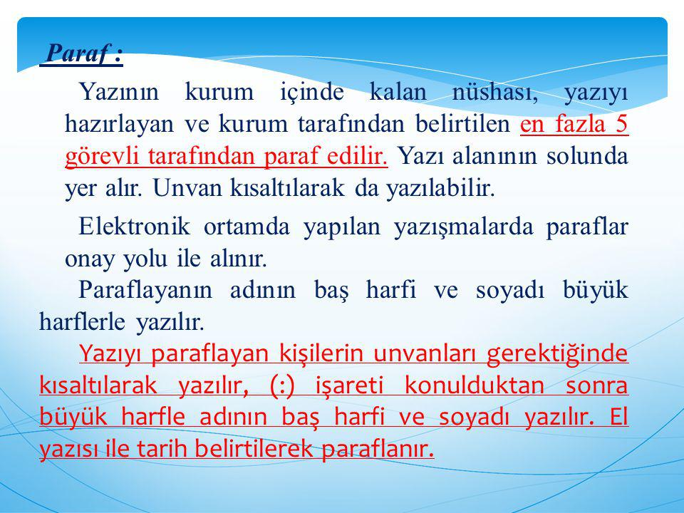 Paraf :