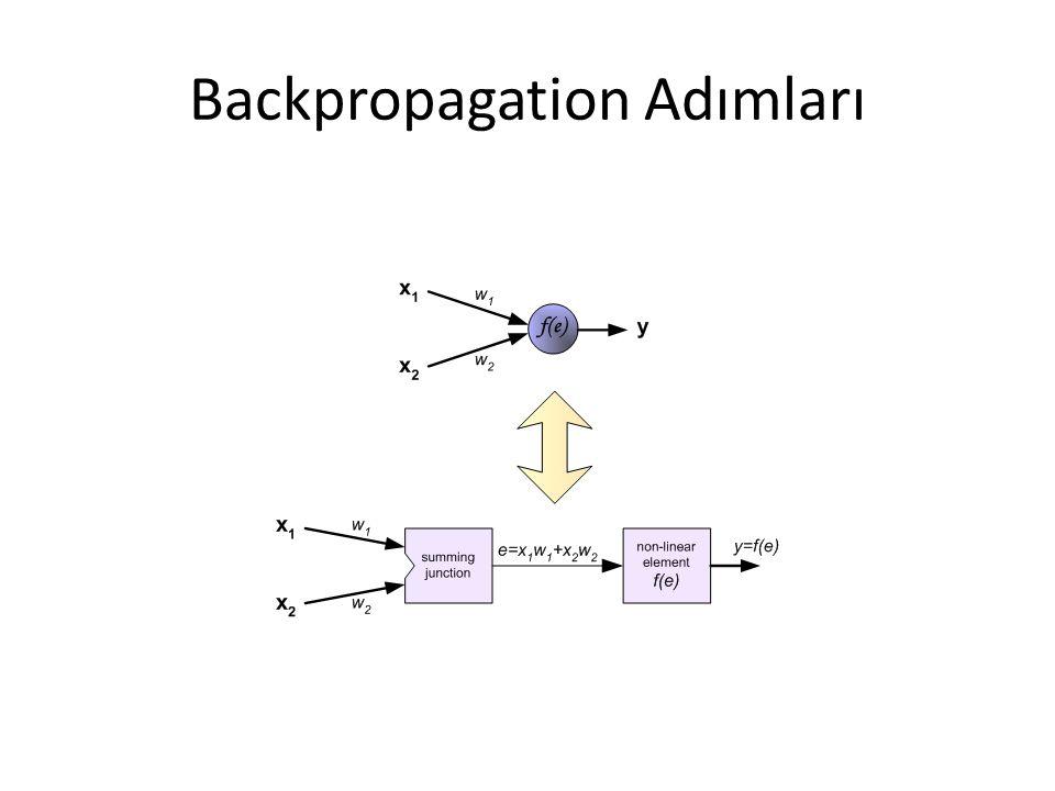 Backpropagation Adımları