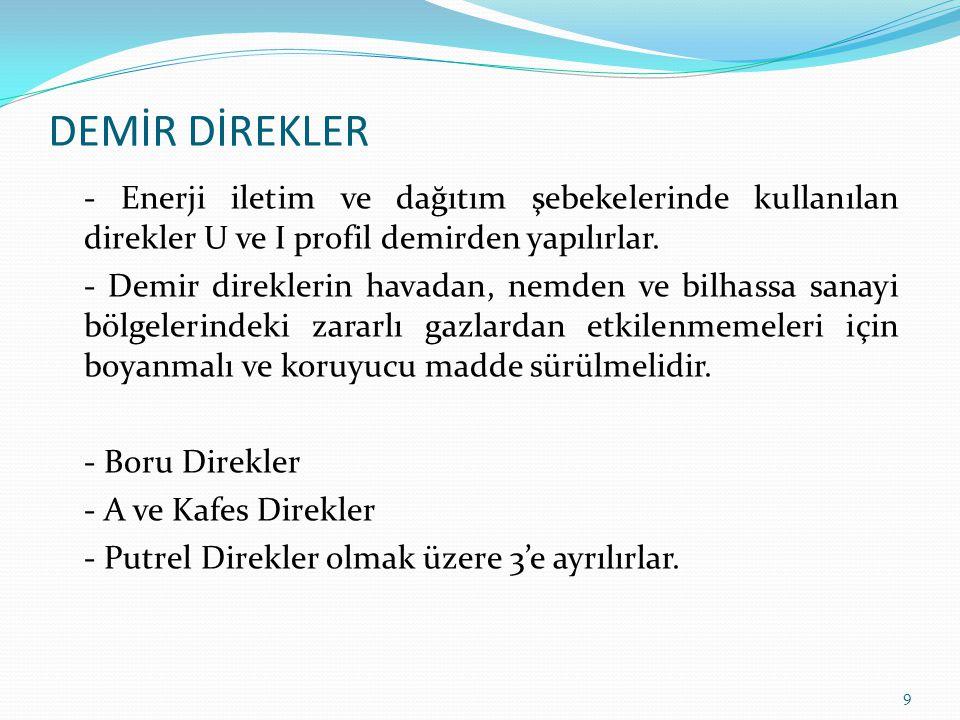 DEMİR DİREKLER