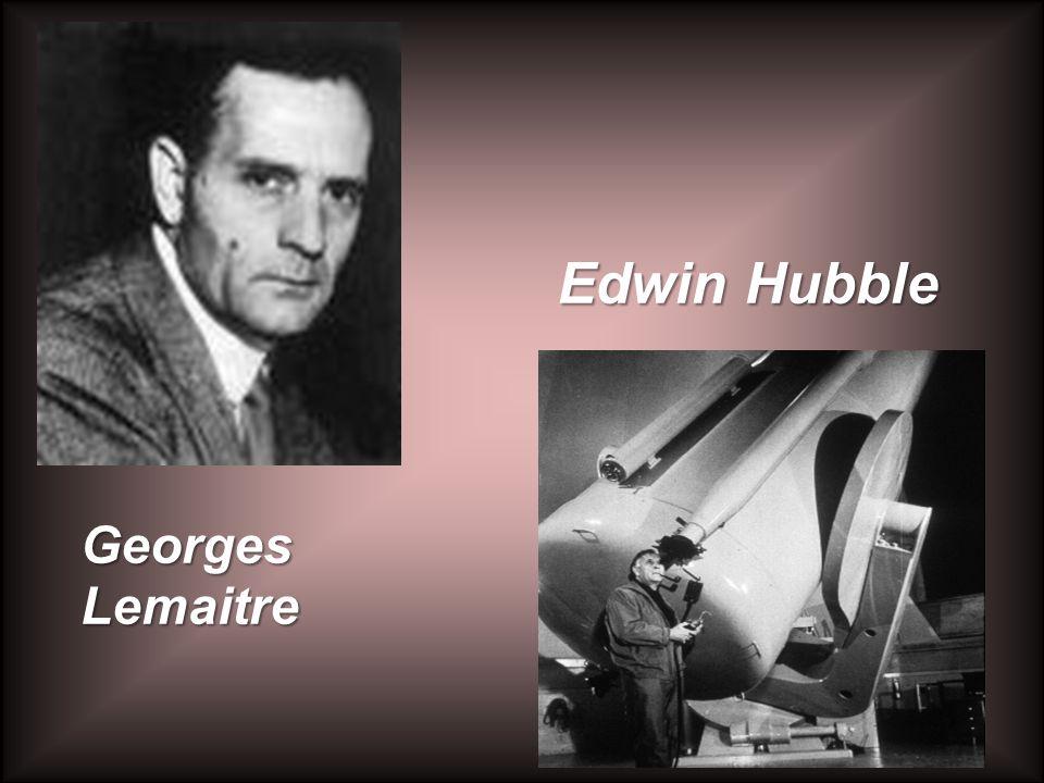 Edwin Hubble Georges Lemaitre
