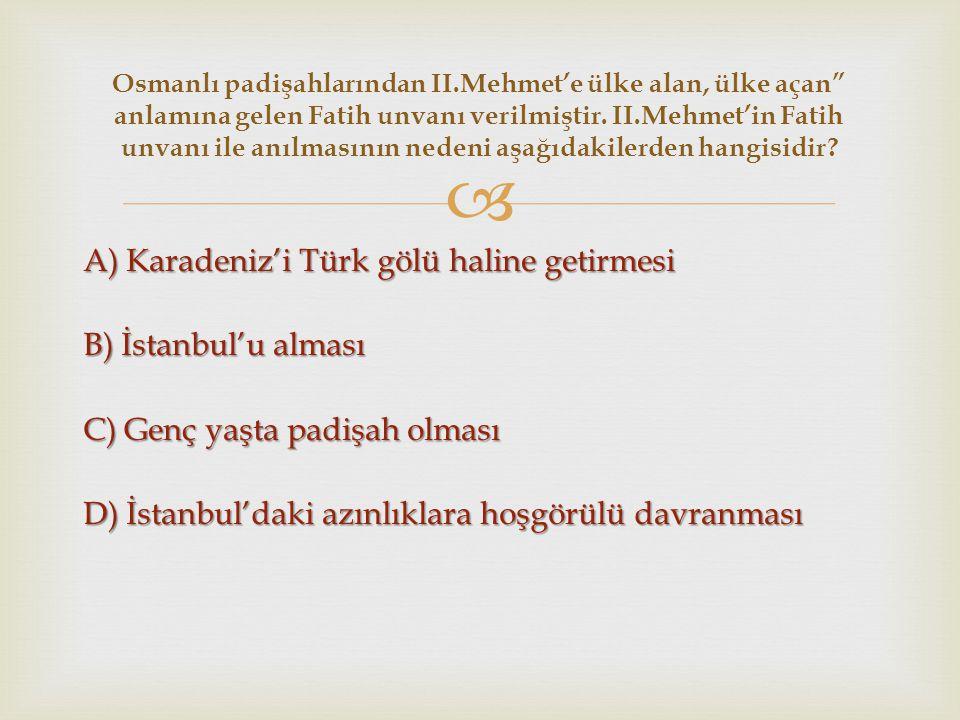 Osmanlı padişahlarından II
