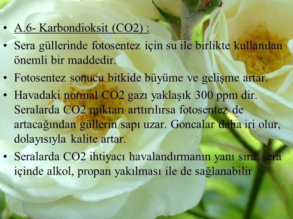 A.6- Karbondioksit (CO2) :