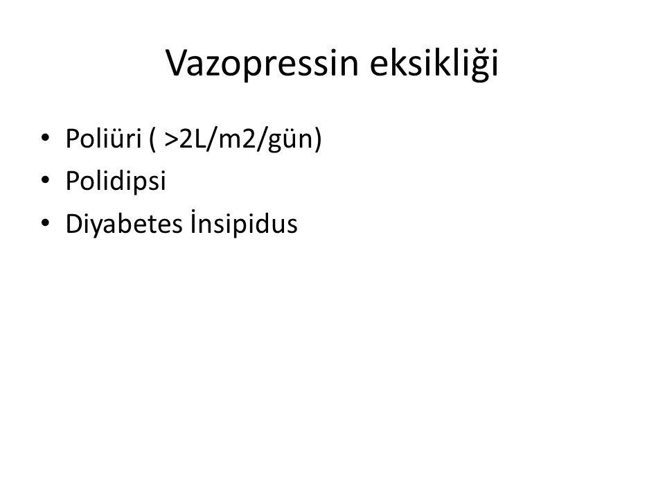Vazopressin eksikliği