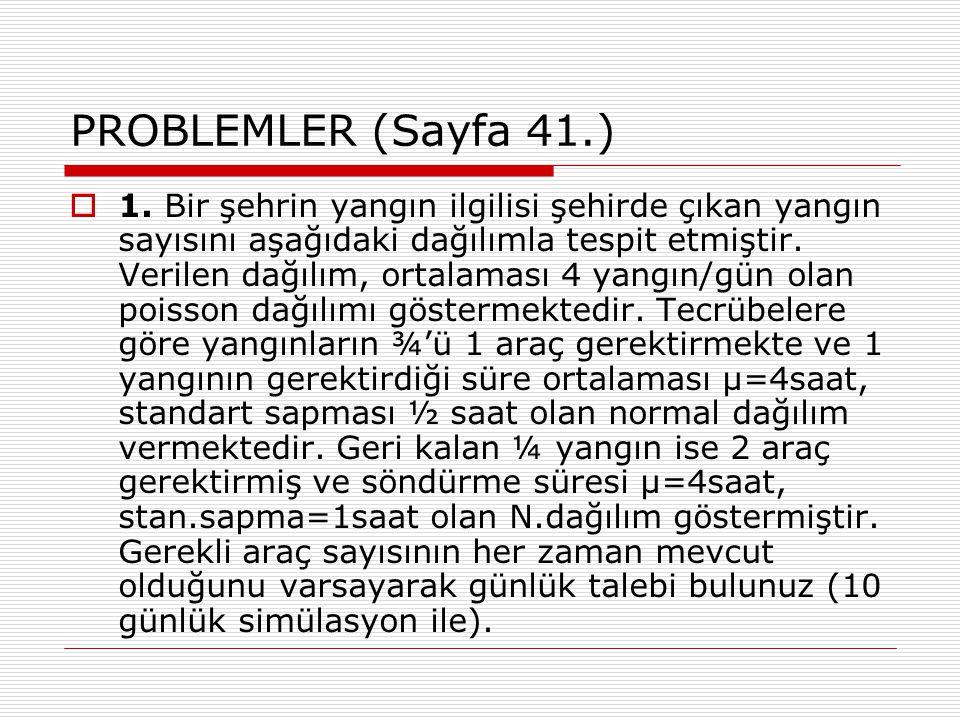 PROBLEMLER (Sayfa 41.)