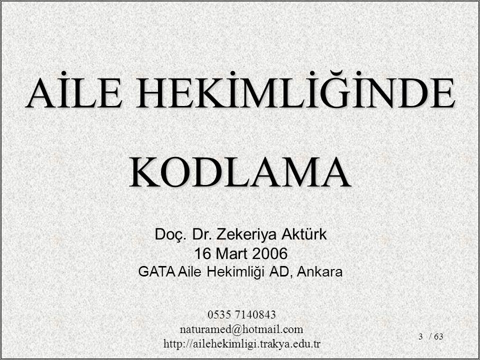 GATA Aile Hekimliği AD, Ankara