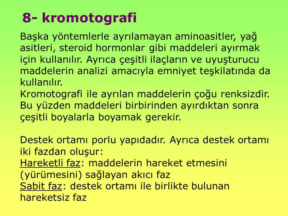8- kromotografi