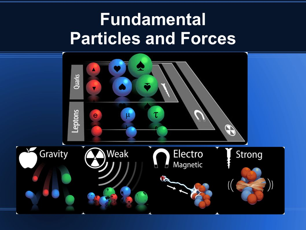 Fundamental Particles and Forces
