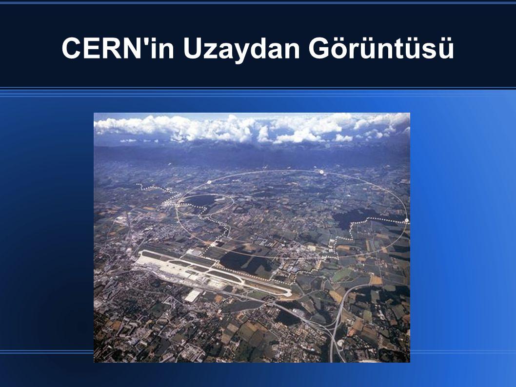 CERN in Uzaydan Görüntüsü