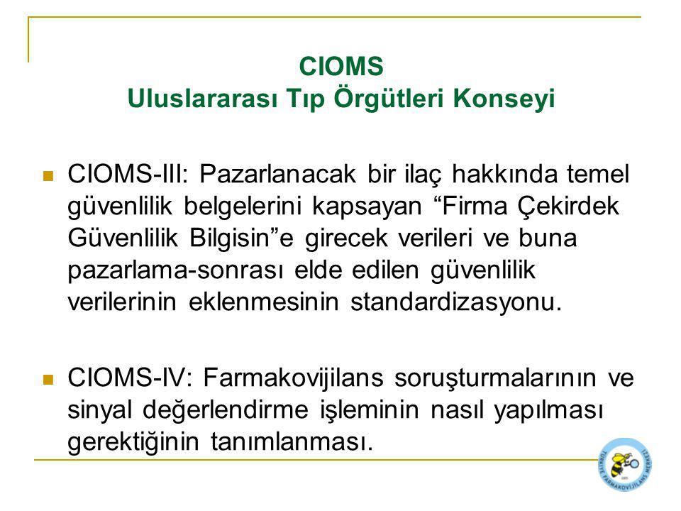 CIOMS Uluslararası Tıp Örgütleri Konseyi