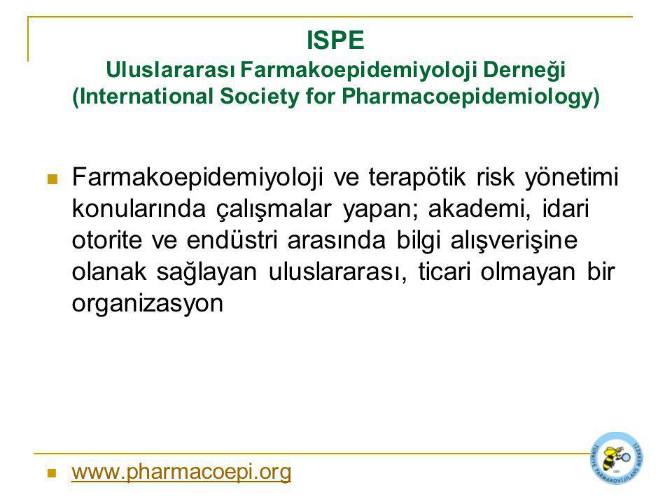 ISPE Uluslararası Farmakoepidemiyoloji Derneği (International Society for Pharmacoepidemiology)