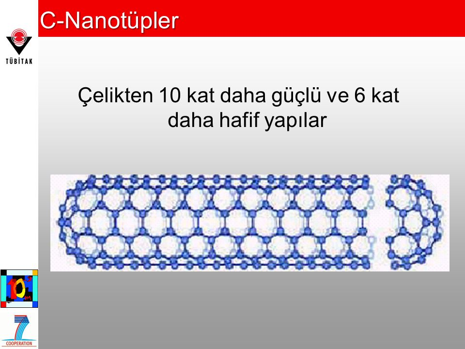 Çelikten 10 kat daha güçlü ve 6 kat daha hafif yapılar