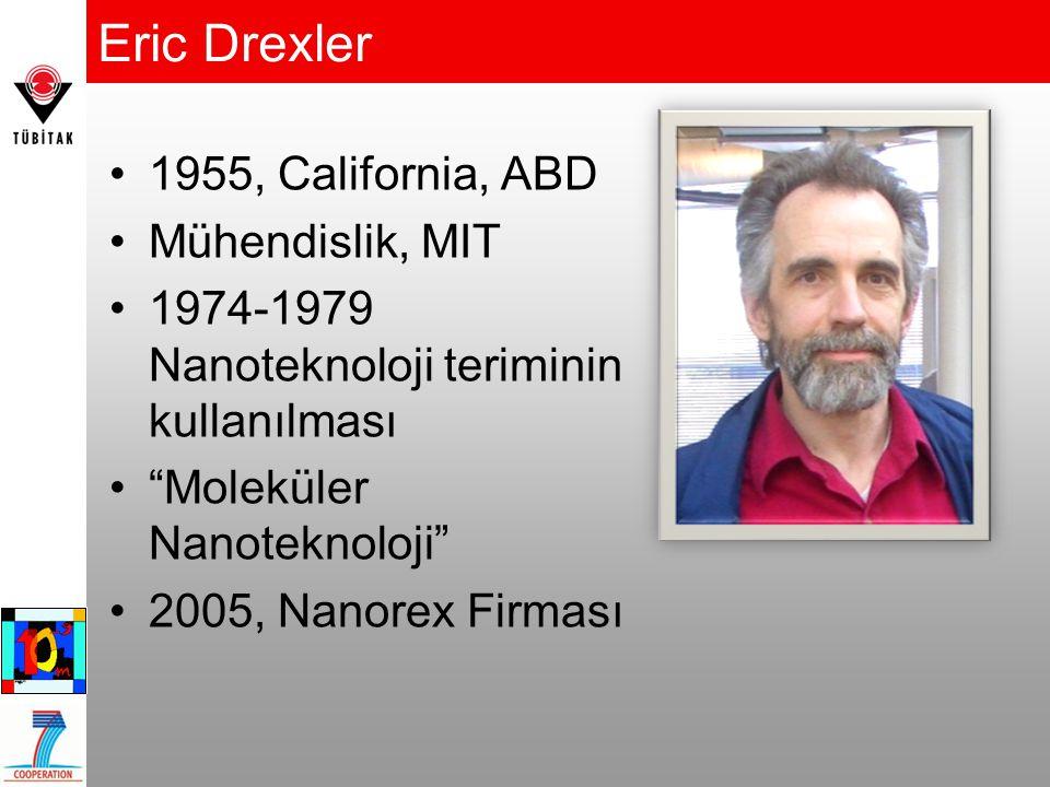 Eric Drexler 1955, California, ABD Mühendislik, MIT