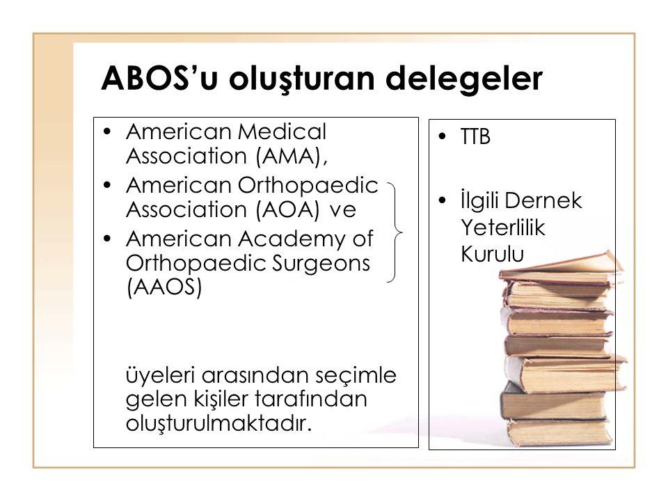 ABOS'u oluşturan delegeler