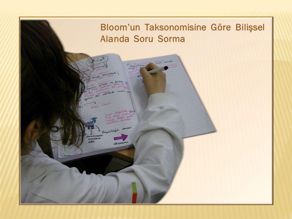 Bloom'un Taksonomisine Göre Bilişsel