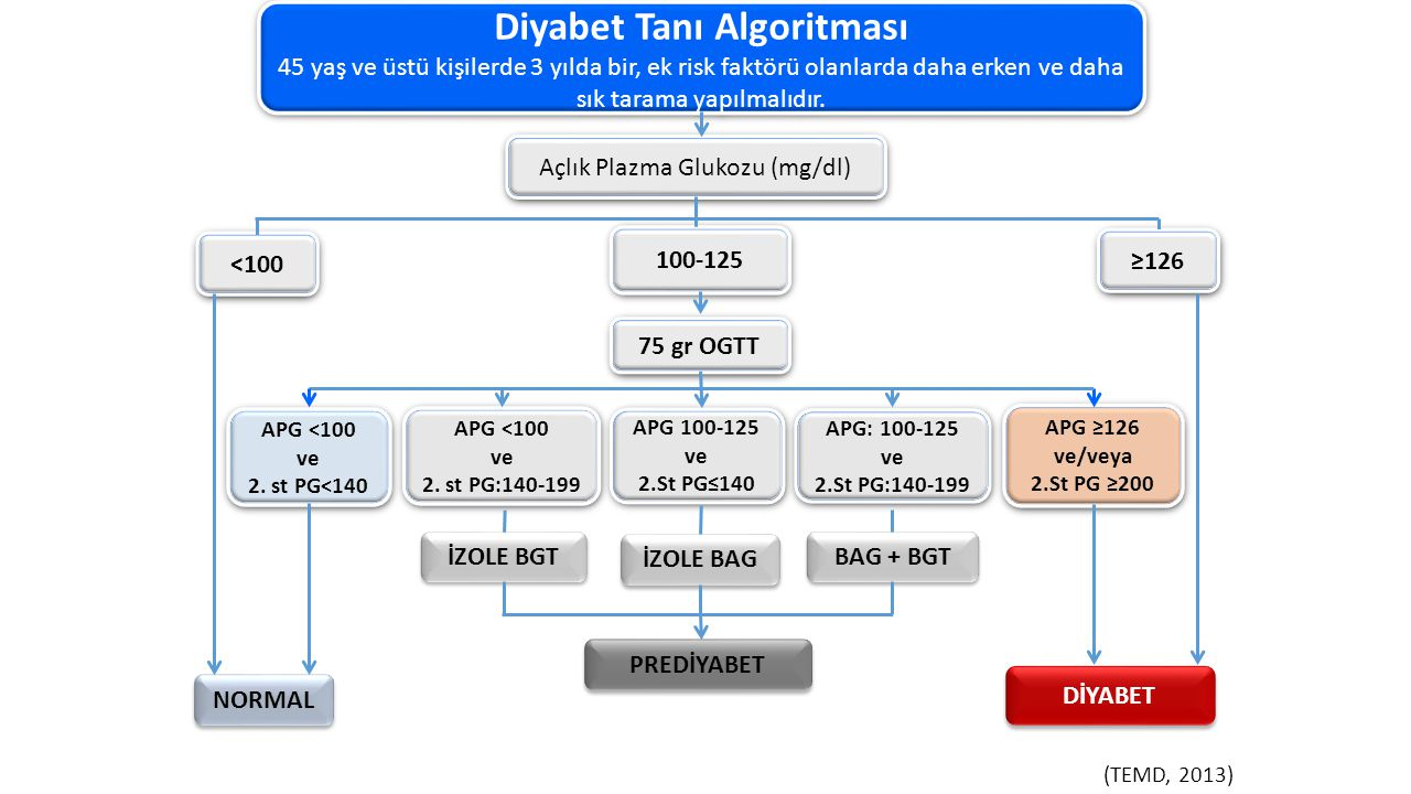 Diyabet Tanı Algoritması