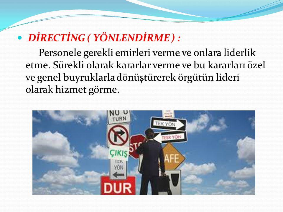 DİRECTİNG ( YÖNLENDİRME ) :