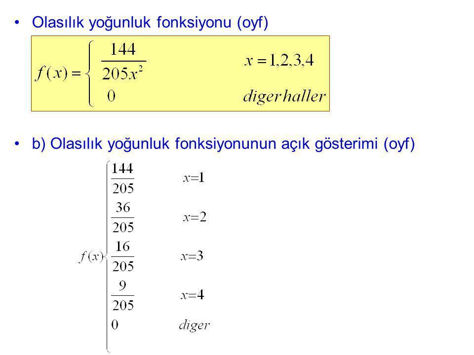 Olasılık yoğunluk fonksiyonu (oyf)
