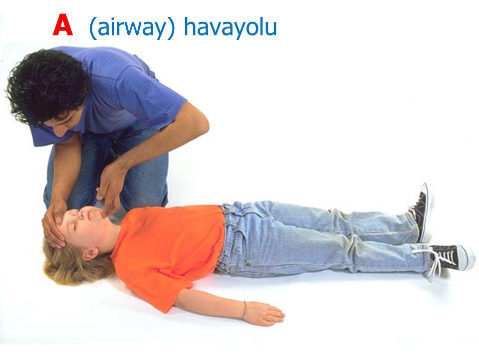 A (airway) havayolu