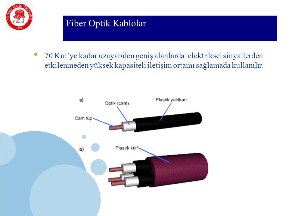 Fiber Optik Kablolar