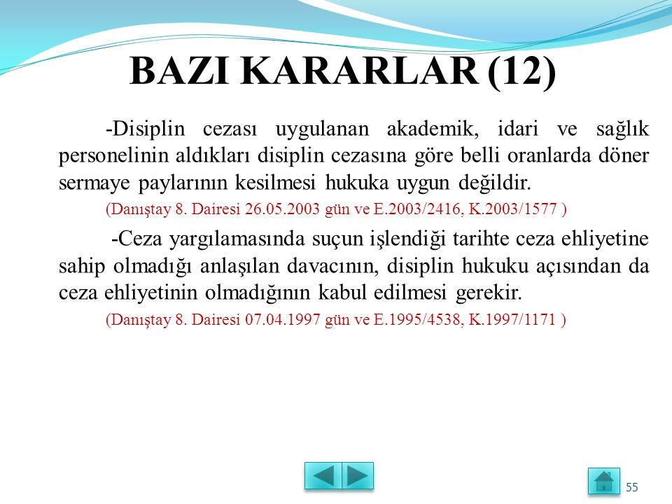 BAZI KARARLAR (12)