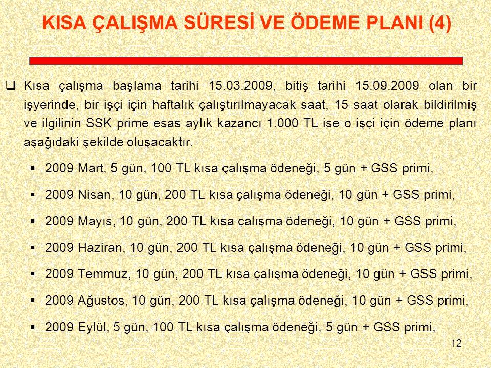 KISA ÇALIŞMA SÜRESİ VE ÖDEME PLANI (4)