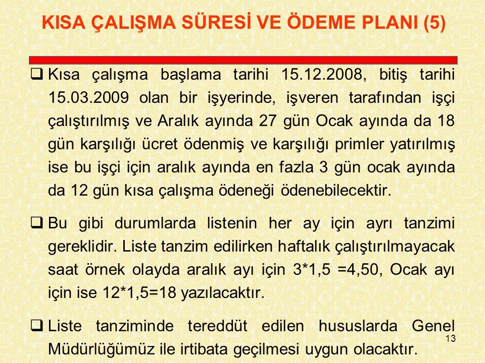 KISA ÇALIŞMA SÜRESİ VE ÖDEME PLANI (5)