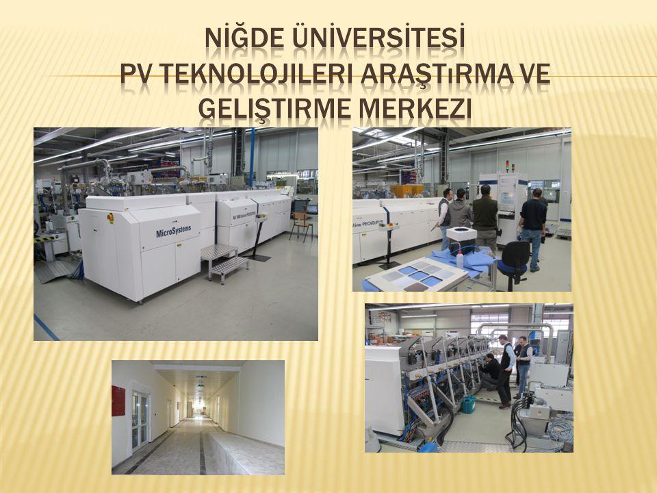 PV Teknolojileri Araştırma ve Geliştirme Merkezi