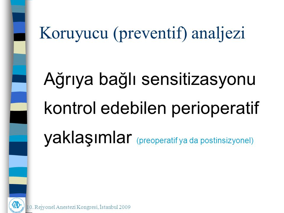 Koruyucu (preventif) analjezi