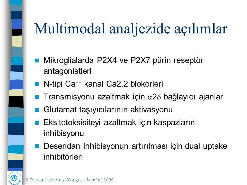Multimodal analjezide açılımlar