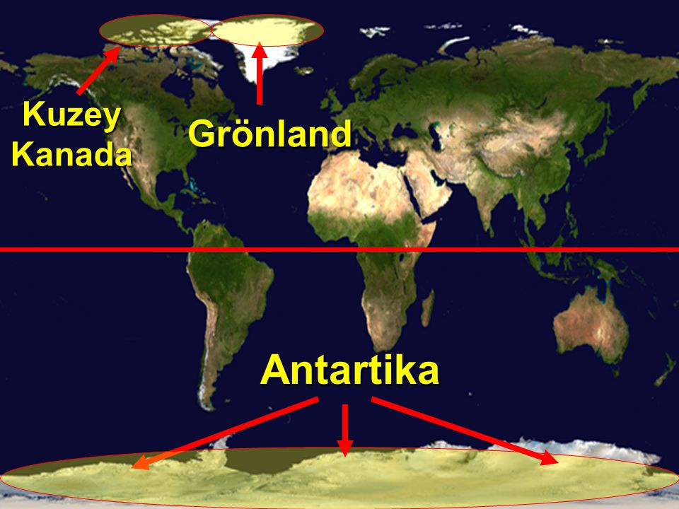 Kuzey Kanada Grönland Antartika