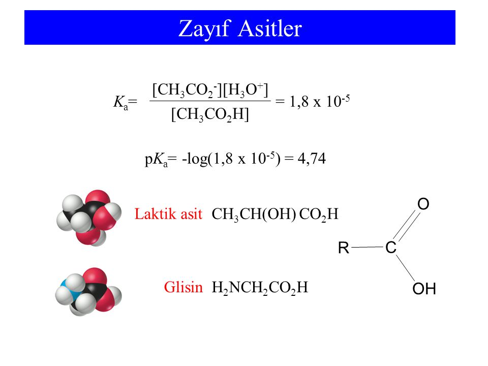 Laktik asit CH3CH(OH) CO2H