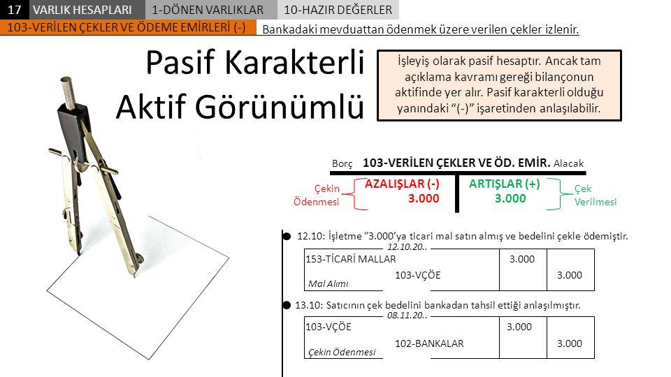 103-VERİLEN ÇEKLER VE ÖD. EMİR.