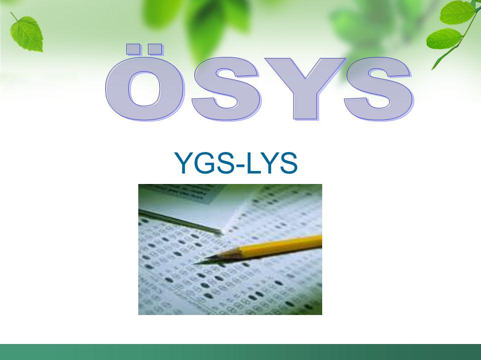 ÖSYS YGS-LYS