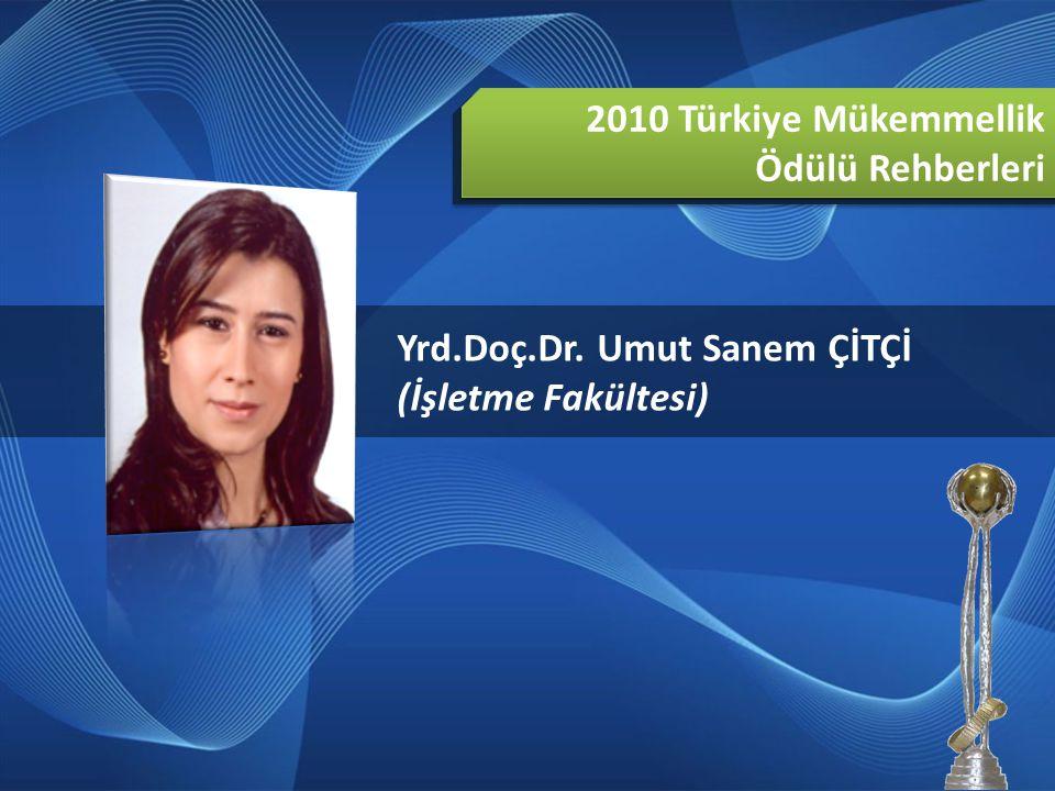 2010 Türkiye Mükemmellik Ödülü Rehberleri