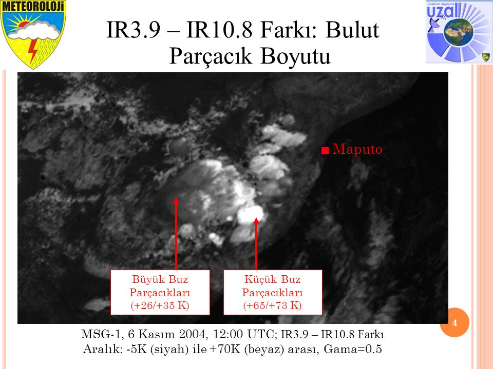 IR3.9 – IR10.8 Farkı: Bulut Parçacık Boyutu